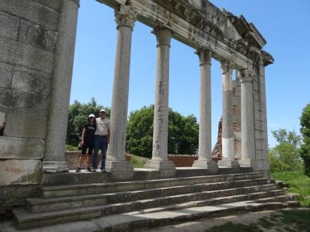 Ancient columns at Apollonia